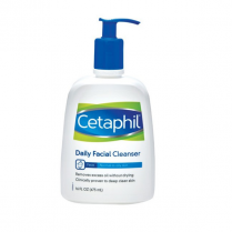 Cetaphil Daily Facial Cleanser -Normal To Oily- 16 Oz