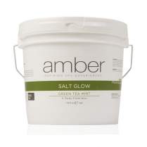 Amber Green Tea Salt Glow Gallon