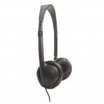 Earphones Single Wire Headsets Black 25Ct
