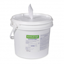 Athletix Disinfecting Wipes Bucket + 1 Roll Of Wipes
