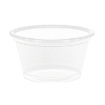 Cups 3/4Oz Clear Portion Container