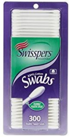 Cotton Swabs 100% Pure Cotton 300/Pk