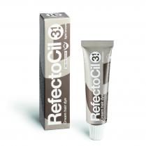 RefectoCil Lash Tint Dye Cream #3.1  Light Brown 0.5 Oz