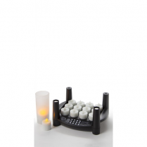 "Candle  Rechargeable 1.75"" Tea Lights (1 Base 1.75"" Tea Ligh"
