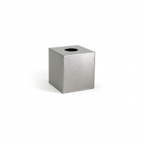 FOH Tissue Box Cover Stainless Steel Antique