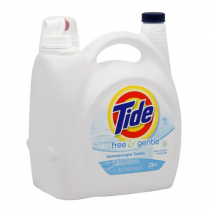 Detergent Tide Free & Gentle 96 Loads