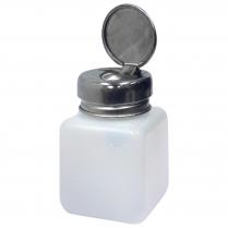 Bottle Pump Dispenser W/ Metal Flip Top