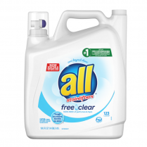 Detergent All Free & Clear 184.5Oz
