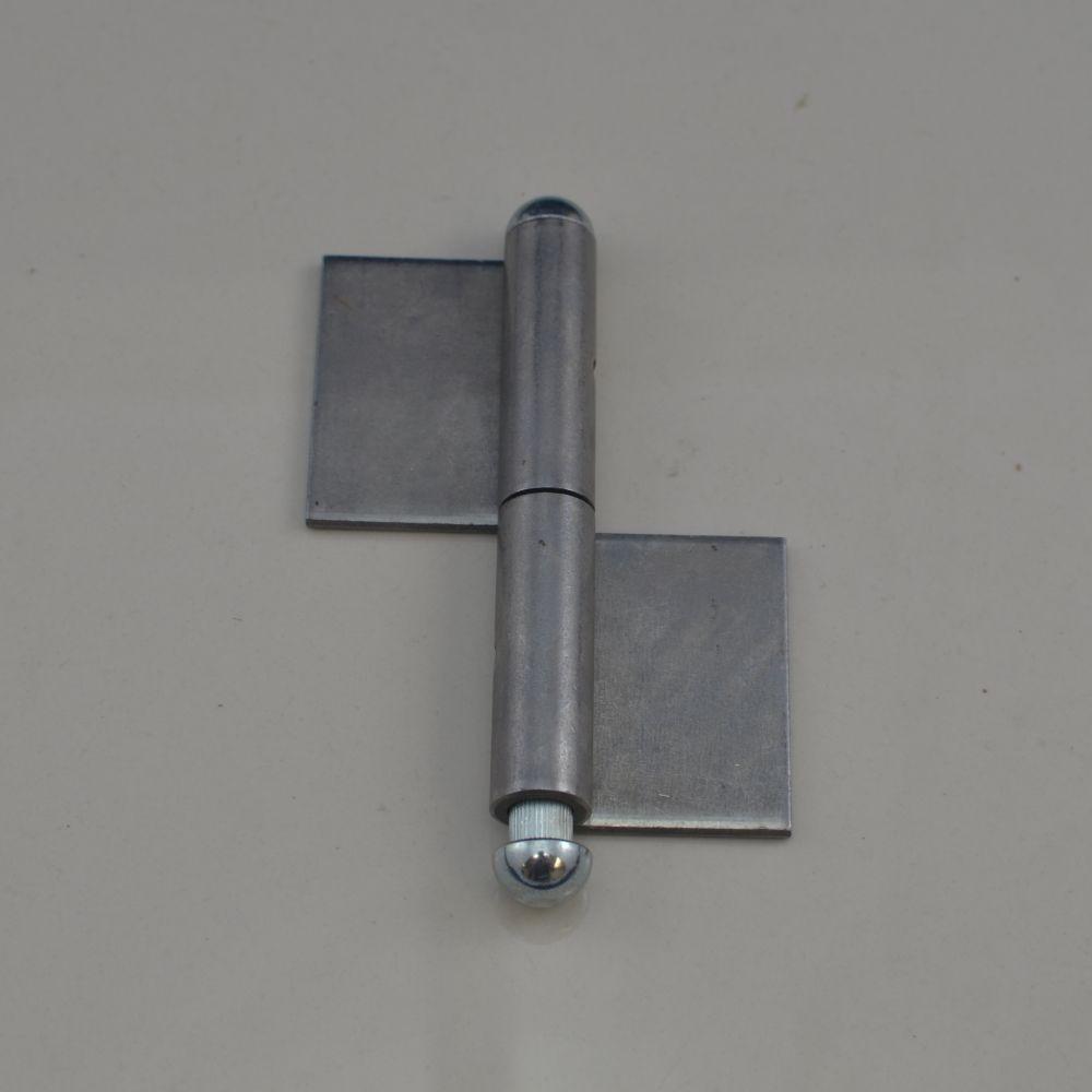 Kos-100 Weld On 2 Piece Steel Flag Hinge 4 U0026quot