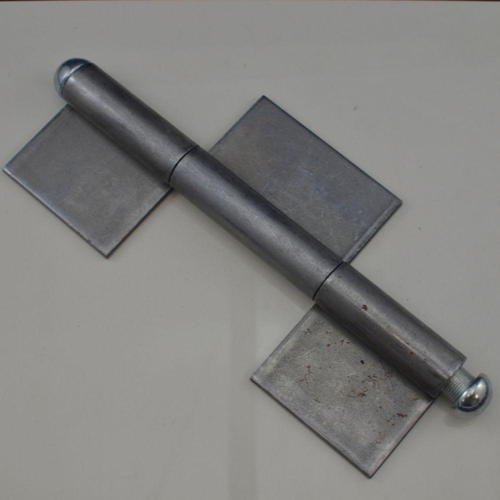 K3s-300 Weld-on 3 Piece Steel Flag Hinge 12 U0026quot