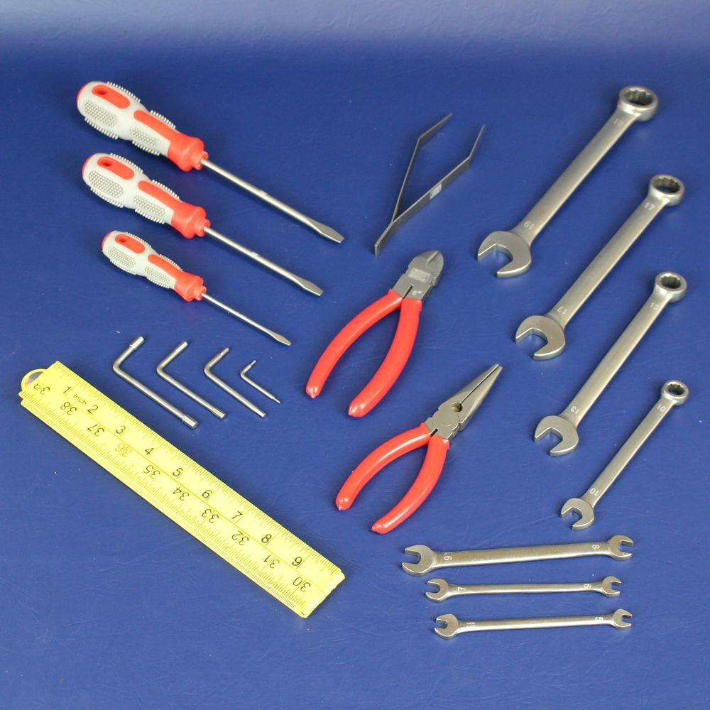 Phillips MRI Non Magnetic 18 Piece Tool Kit Titanium