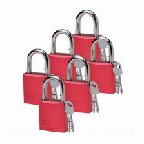 PADLOCK SAF DIFFERENT R LOTO-10 AL 1/4IN