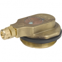 HORIZONTAL BRASS VENT