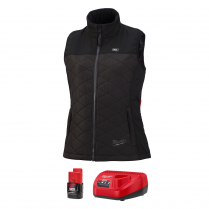 MILWAUKEE KIT VEST HTD M BK RIPSTOP POLYEST WOMEN