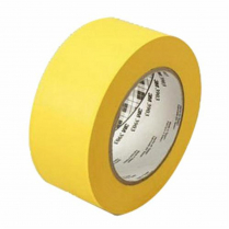 TAPE DUCT 50YD 2IN 6.5MIL YEL RBR GP