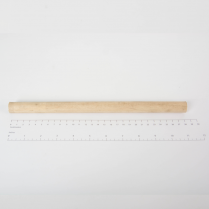 SPINDLE- PAPERGRD 2 ROLL WOOD