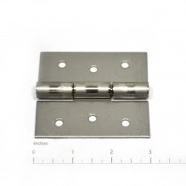 HINGE- DOOR STNLS HEAVY NARROW