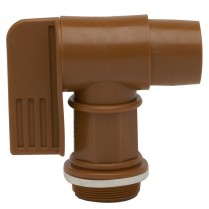 SPIGOT- 2in MPT W/TURN HANDLE