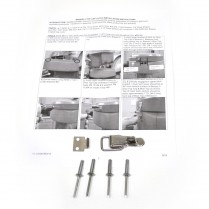 KIT- BREEZE II LATCH CAP LOCK
