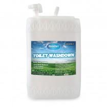 TOILET W/DOWN- CONC SPRV 6 GAL