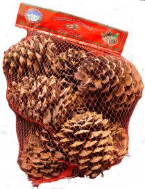 Cinnamon Scented Pine Cones, 20/Case