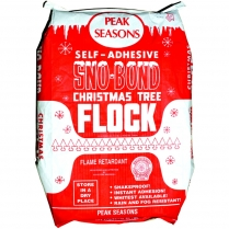 Flock Sno-Bond White 25lb Bag