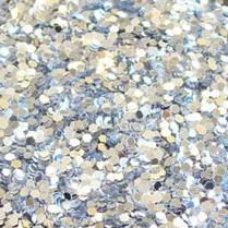 Silver Glitter - 1 lb Shaker Bottle