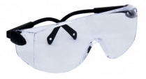 Safety Glasses, Clear With UV Coating