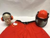 Chainsaw Safety Helmet Kit