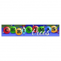 Banner - 3' x 15' Christmas Ornament