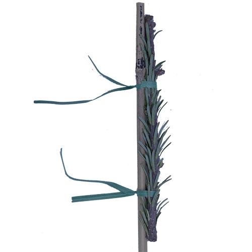 """1/4"""" x 6"""" Green Paper twist-tie"""