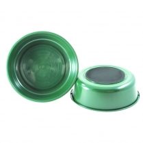 Water Bowl - 2.5 Gal Nail-On Green 25/Case
