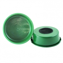 Water Bowl - 5 Qt Nail-On Green 50/Case