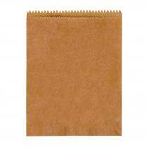 1F Flat Bag Brown