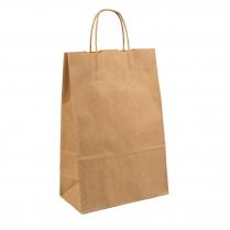 Med Twist Handle Carry Bag BRN