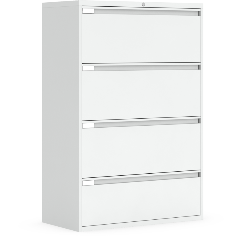 4 Drawer Lateral File Global Fileworks, Global 4 Drawer Lateral File Cabinet