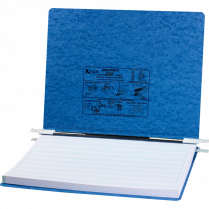 DATA BINDER 15x11 PRESS BLUE