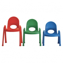 "VALUE STACK CHAIR 5"" RED AB7705PR L0116-03"