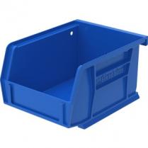 """BIN PLASTIC 4.1x5.4x3"""" BLUE"""