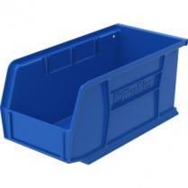 """BIN PLASTIC 5.5x10.88x5"""" BLUE"""