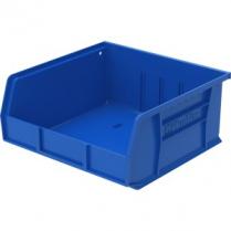 """BIN PLASTIC 11x10.88x5"""" BLUE"""