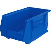 """BIN PLASTIC 8.25x14.75x7"""" BLUE"""