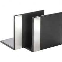 BOOKENDS, PAIR, BLACK