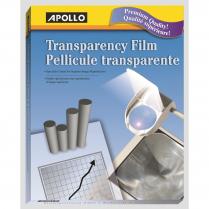 OHP FILM APOLLO LASER 50/BOX CLEAR