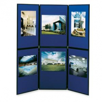 SHOWBOARD 6-PANEL FLR BL/GY