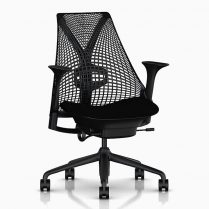 SAYL BLACK w/ LUMBAR SUPPORT