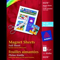 MAGNETIC SHEET INKJET 8.5x11 4SHTS
