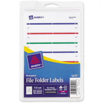 LABEL F/FLDR ASSORTED 248