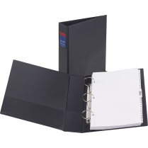 "BINDER LEGAL 2"" ROUND RING BLACK"