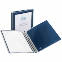 "BINDER FLEXI-VIEW 1/2"" BLUE"
